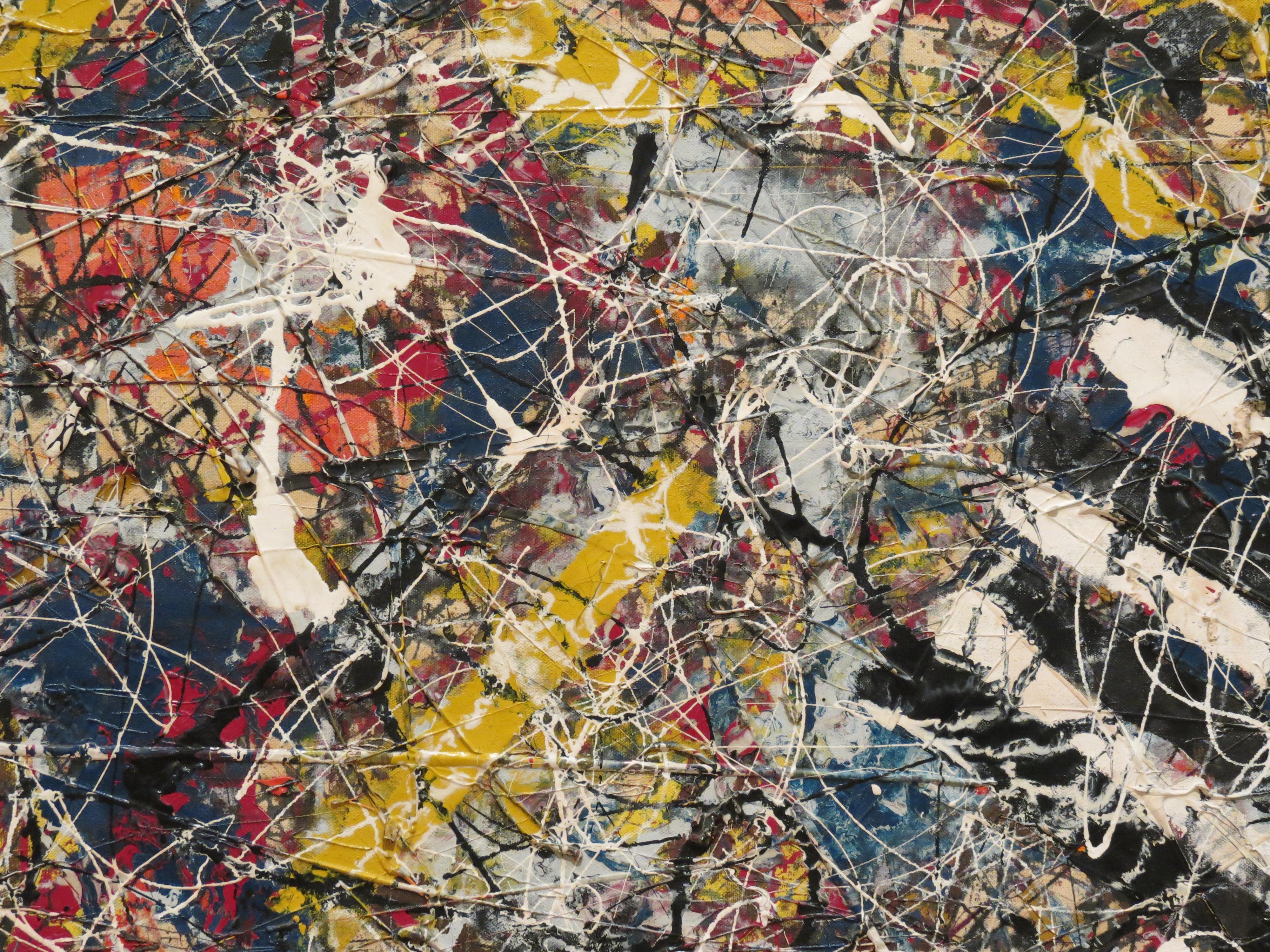Αποτέλεσμα εικόνας για Number 17A by Jackson Pollock